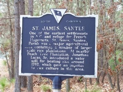 St. James, Santee Marker image. Click for full size.