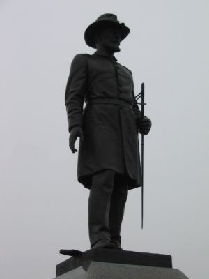 Statue of Lt. Brown image. Click for full size.