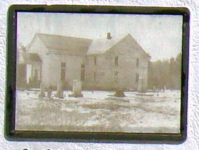 Closeup of Photograph Embedded in Marker image. Click for full size.