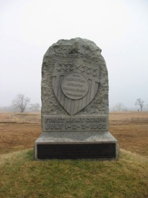16th Vermont Infantry Monument image. Click for full size.