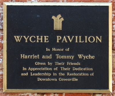 Wyche Pavilion Marker image. Click for full size.