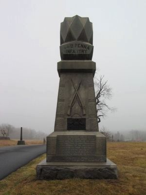 84th Pennsylvania Infantry Monument image. Click for full size.