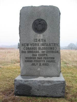 124th New York Infantry Monument image. Click for full size.