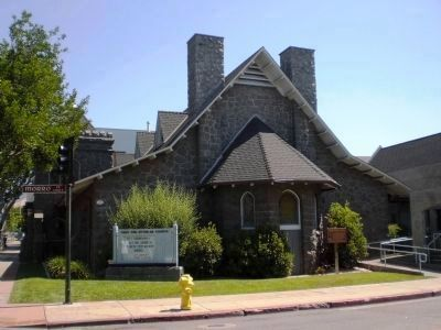 The First Presbyterian Church of San Luis Obispo (constructed 1905) image. Click for full size.