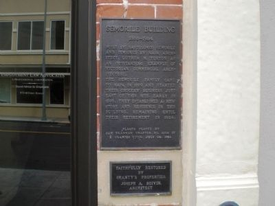 Semorile Building Marker image. Click for full size.
