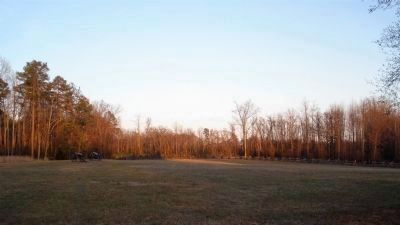 Gaines' Mill Battlefield east of the Watt House image. Click for full size.