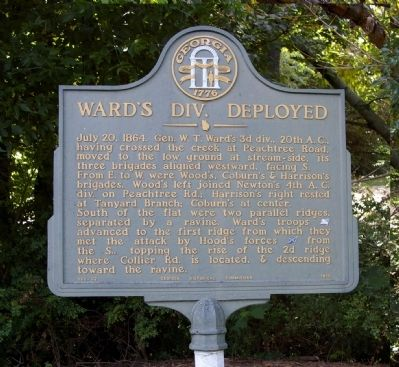 Ward's Div. Deployed Marker image. Click for full size.