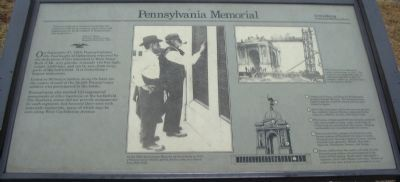 Pennsylvania Memorial Marker image. Click for full size.