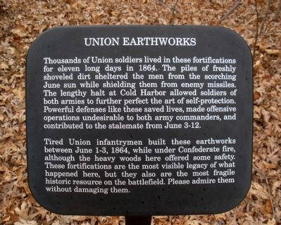Union Earth Works Marker image. Click for full size.