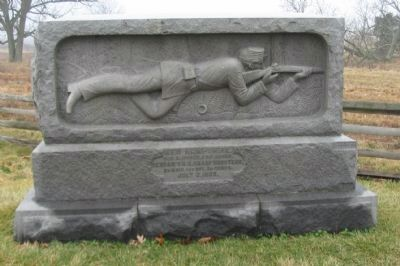 Monument for the New Hampshire Sharpshooters image. Click for full size.