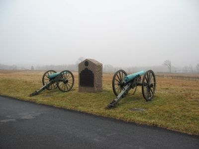 Battery C, Fourth U.S. Artillery Tablet image. Click for full size.