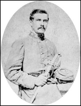 General Micah Jenkins <br>(1835 &#8211; 1864) image. Click for full size.