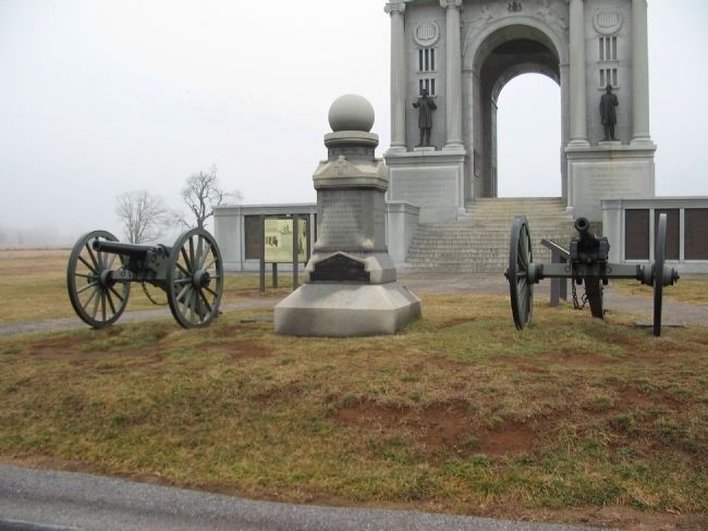 Battery A, 1st New Jersey Artillery Monument image. Click for full size.