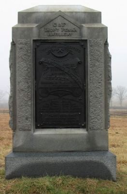 Batteries C & F, Pennsylvania Independent Light Artillery Monument image. Click for full size.