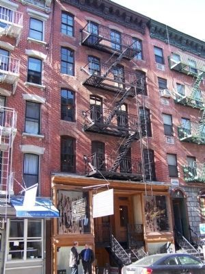 Lower East Side Tenement Museum image. Click for full size.