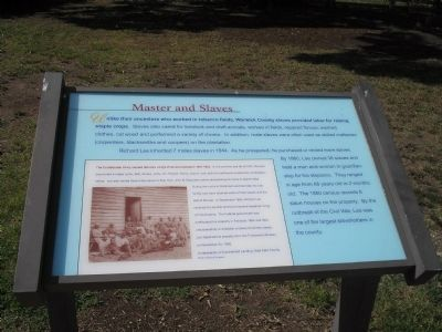 Master and Slaves Marker image. Click for full size.