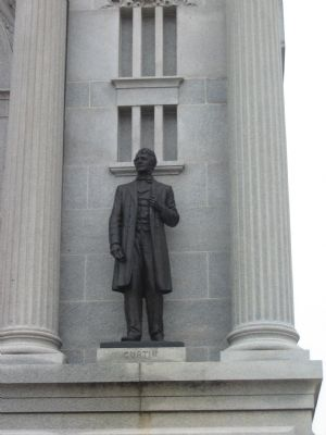 Governor Curtin Statue image. Click for full size.
