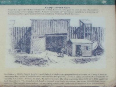 Camp Lawton Interpretive Marker 2 image. Click for full size.