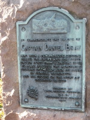 Captain Daniel Bray Marker image. Click for full size.