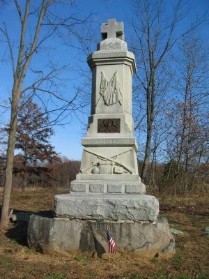 93rd Pennsylvania Infantry Monument image. Click for full size.