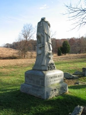 102nd Pennsylvania Infantry Monument image. Click for full size.