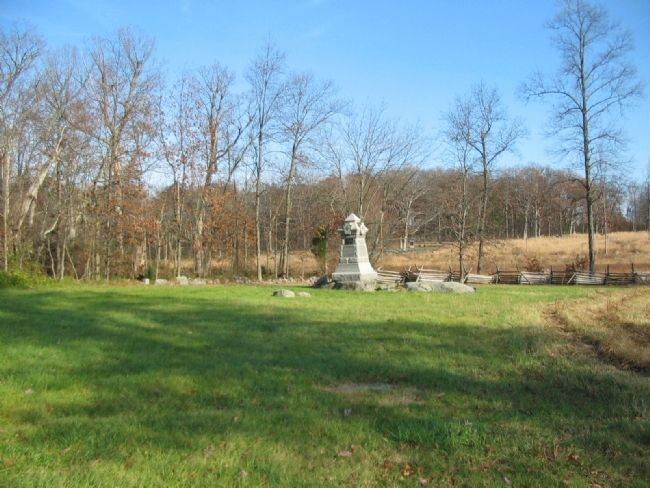 98th Pennsylvania Infantry Monument image. Click for full size.