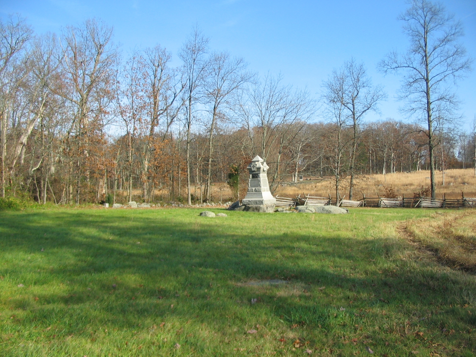 98th Pennsylvania Infantry Monument