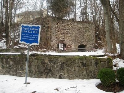 Peapack-Gladstone Lime Kiln Park Marker image. Click for full size.