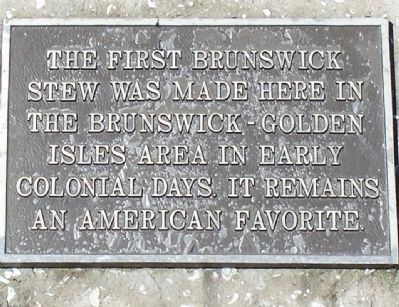 Brunswick Stew Marker image. Click for full size.