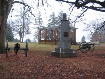 1st New Hampshire Battery Monument image. Click for full size.