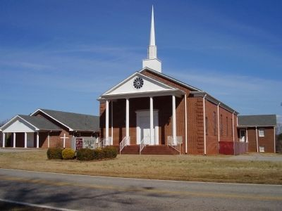 Mount Zion Baptist Church as of Today image. Click for full size.