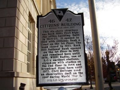Citizen's Building Marker image. Click for full size.