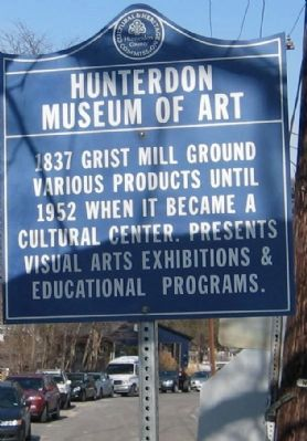 Hunterdon Museum Of Art Marker image. Click for full size.