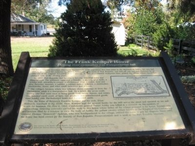 The Frank Kemper House Marker image. Click for full size.
