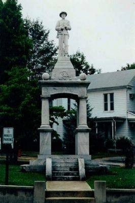 Page County Confederate Soldiers Monument image. Click for full size.
