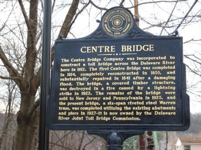 Centre Bridge Marker image. Click for full size.