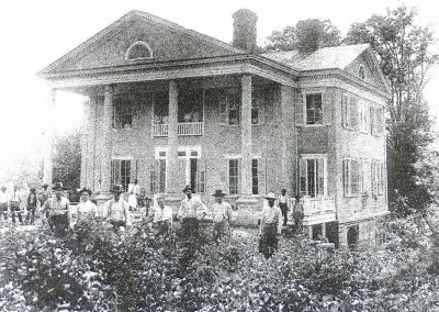 Tanglewood Mansion c.1910 image. Click for full size.