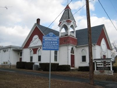 Sergeantsville First Brethren Church image. Click for full size.