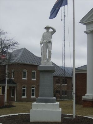 Highland County Confederate Monument Marker image. Click for full size.