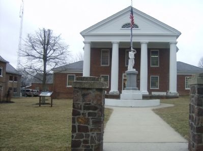 Highland County Confederate Monument image. Click for full size.
