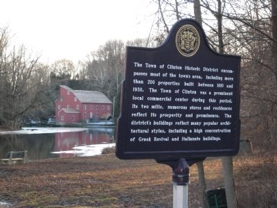 Clinton Historic District Marker image. Click for full size.