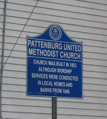 Pattenburg United Methodist Church image. Click for full size.