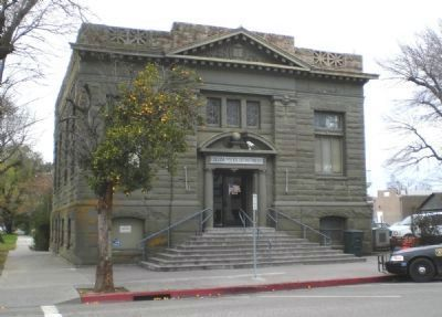 Colusa Carnegie Library (Constructed 1906) image. Click for full size.