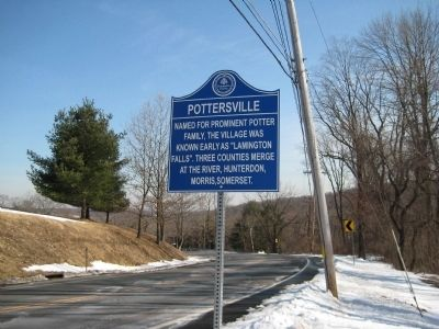 Pottersville Marker image. Click for full size.