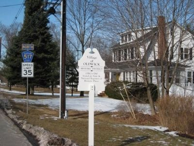 Village of Oldwick Historic District Marker image. Click for full size.