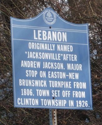 Lebanon Marker image. Click for full size.
