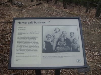 """It was cold business"" Marker image. Click for full size."