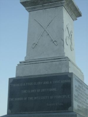 South Panel - Confederate Dead Monument image. Click for full size.