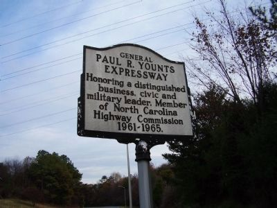 General Paul R. Younts Expressway Marker image. Click for full size.
