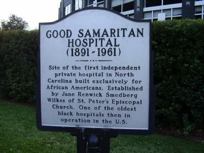 Good Samaritan Hospital (1891-1961) Marker image. Click for full size.